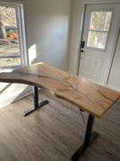 Adjustable Height Home Office Desk