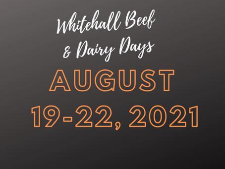 Whitehall Beef & Dairy Days