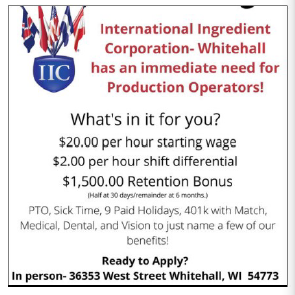 Production Operators here's a great local job opportunity!