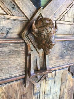 Bison Door Knocker