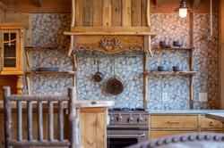 Kitchen details at the Nest