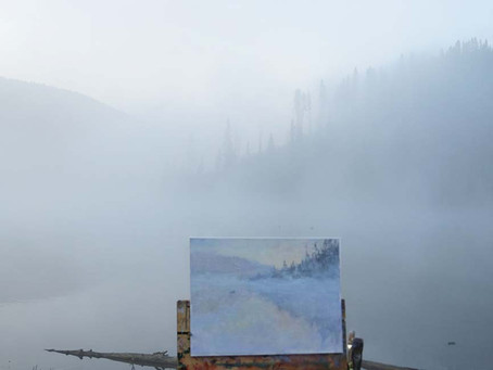 The Foggy Mysterious Moods of Yellowstone
