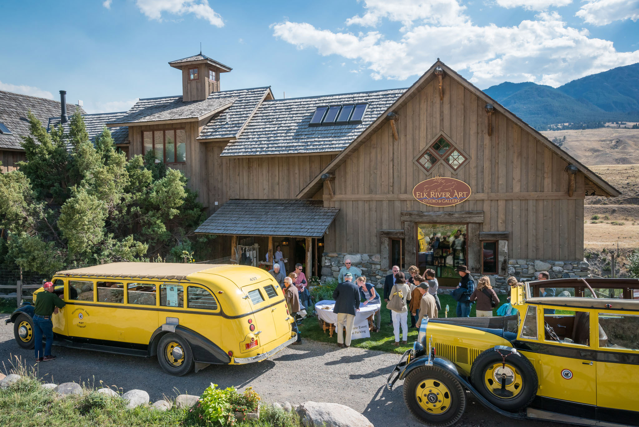 VIP Reception for Yellowstone 100th