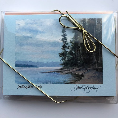 Yellowstone Landscapes - Box of Six Fine Art Cards