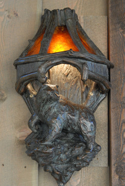 Grizzly Mountain Sconce 2008 10 28 001