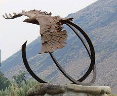 Lynx. Bronze by John Stacy