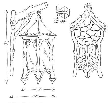 Sketch - Bronze Sconce