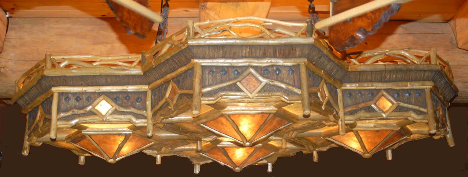 Cedar Crown Chandelier