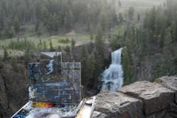 Shirl's painting of Undine Falls