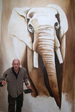 Elephant Taille réelle 2