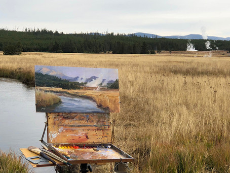 Yellowstone Plein Air Invitational is about to begin!