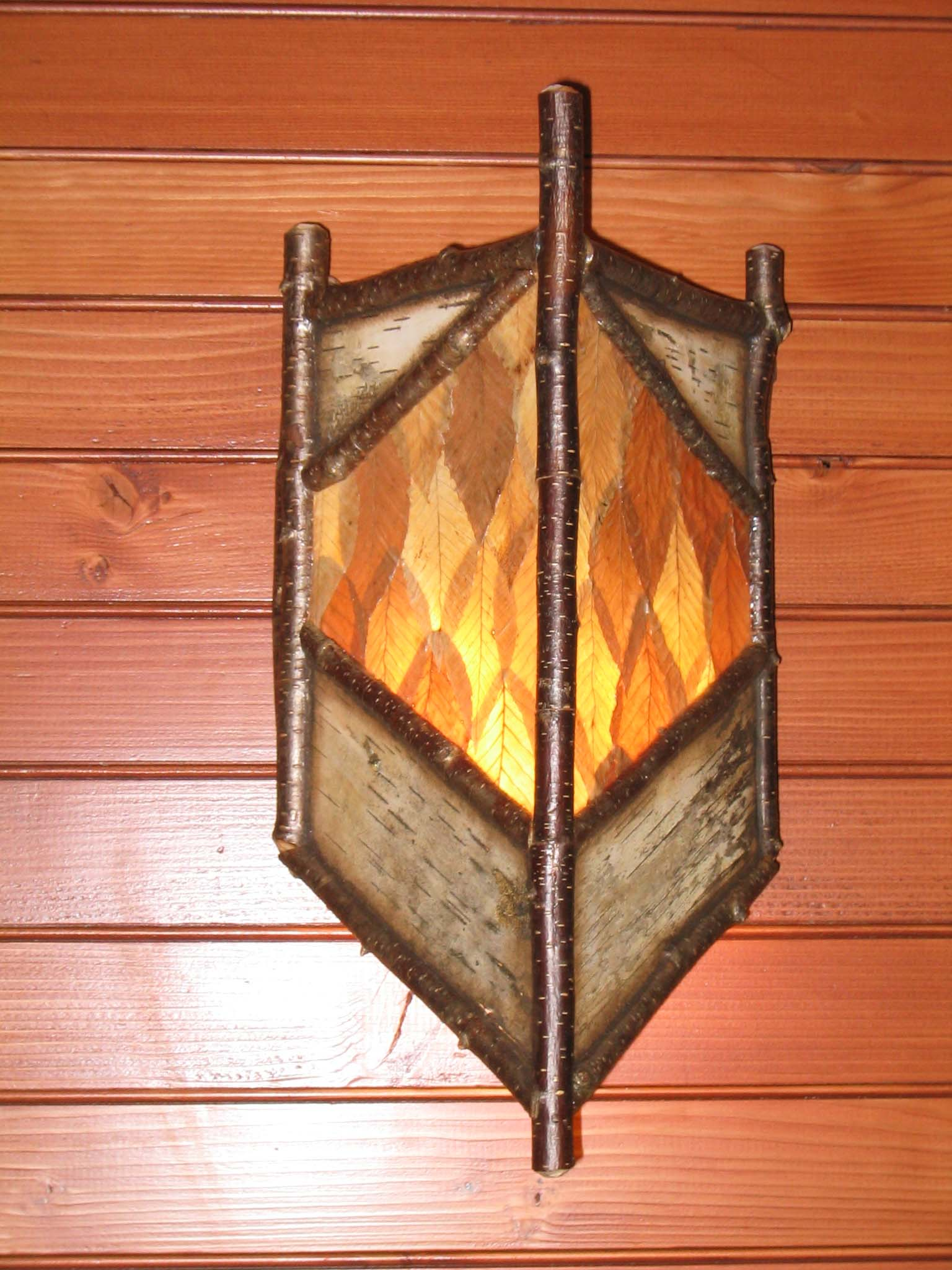 Forest sconce