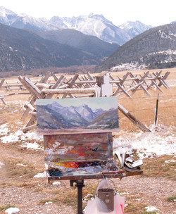 Shirl's painting of Paradise Valley