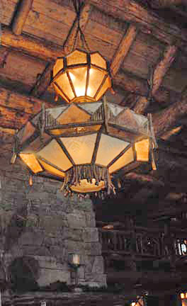 Yellowstone Club Chandelier