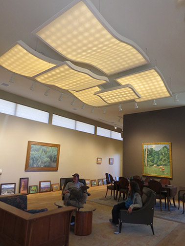 Lighting for Aspevig/Guzman Gallery