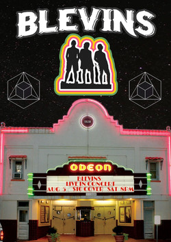 Odeon Theatre Gig Poster