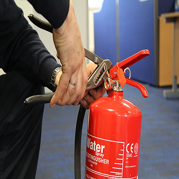 fire extinguisher commisioning