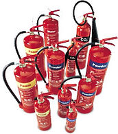 fir extingusher hire