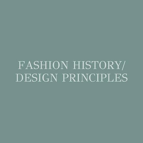 Fashion History/ Design Principles