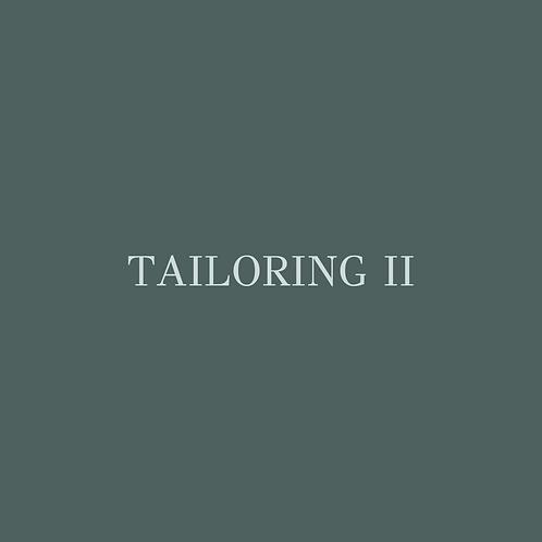 Tailoring II