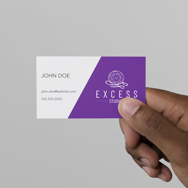 Excess Studios Business Card Mockup