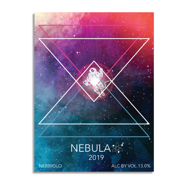 Nebbiolo Wine Label