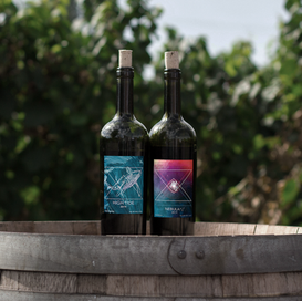 Wine Labels Mockup