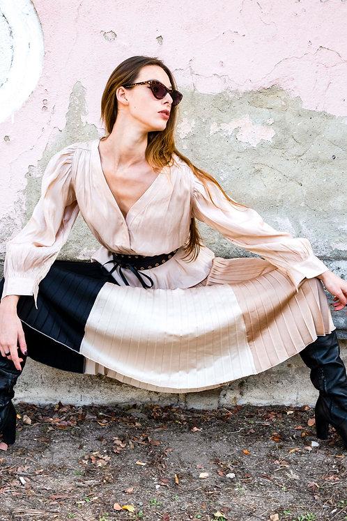 2 Tone Skirt