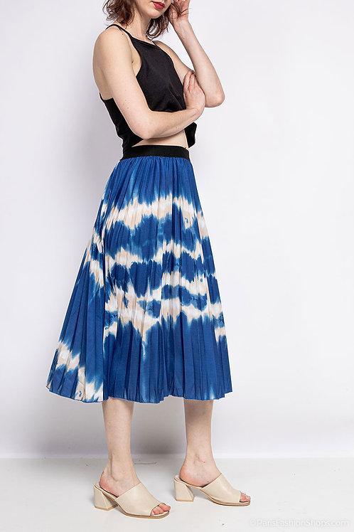 Skirt in tie & dye