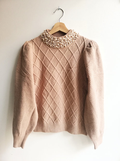 Pearl Camel Knit