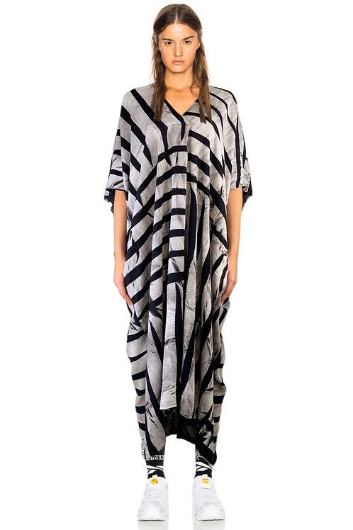 Grey Lines Bouncy Dress
