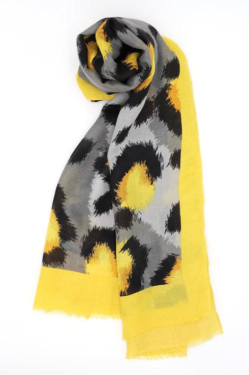 Yellow black Scarf
