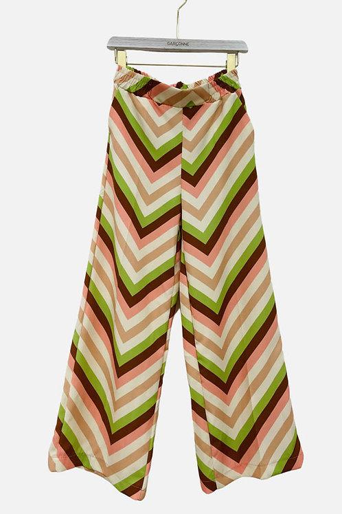 Geometric Pattern Pants