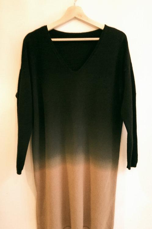 3 Tone Knit Dress