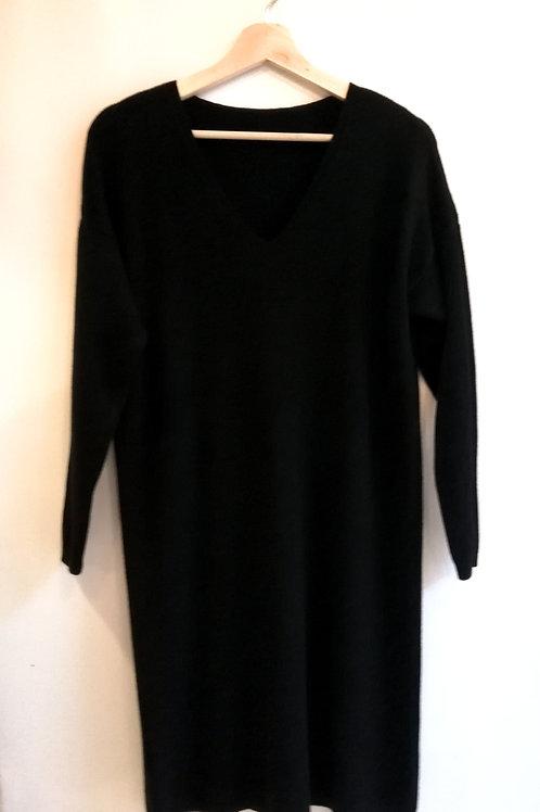 Black Knit Dress 2020
