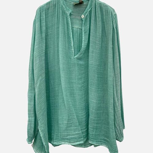 Cotton Wide Shirt
