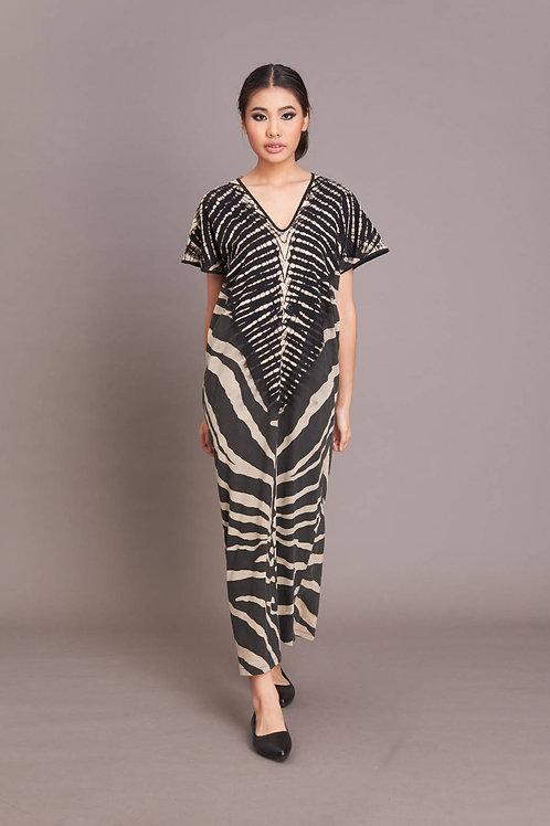 Zebra Narrow Dress
