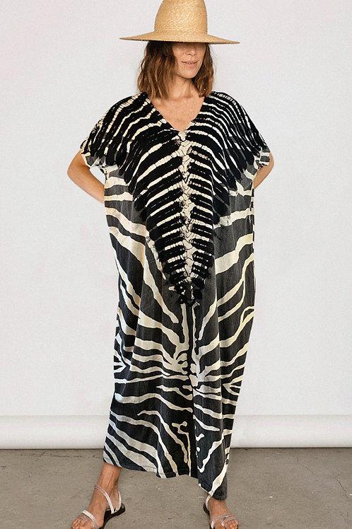 Zebra Loose Dress