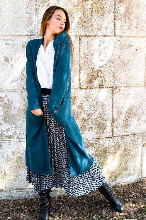 Long Emerald Coat