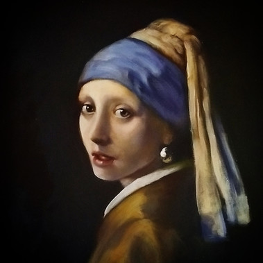 Girl with a pearl earring - Vermeer - Master copy