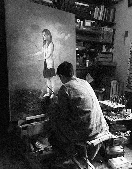 valerie lenoir artiste peintre lowbrow