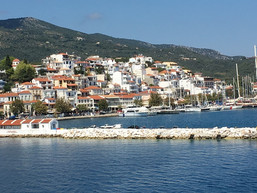 We Are in Greece on An Island
