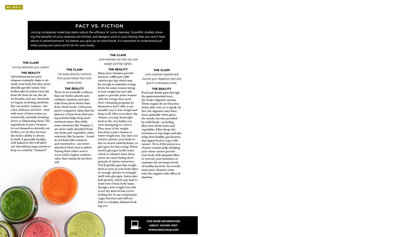Verily Magazine, August 2013