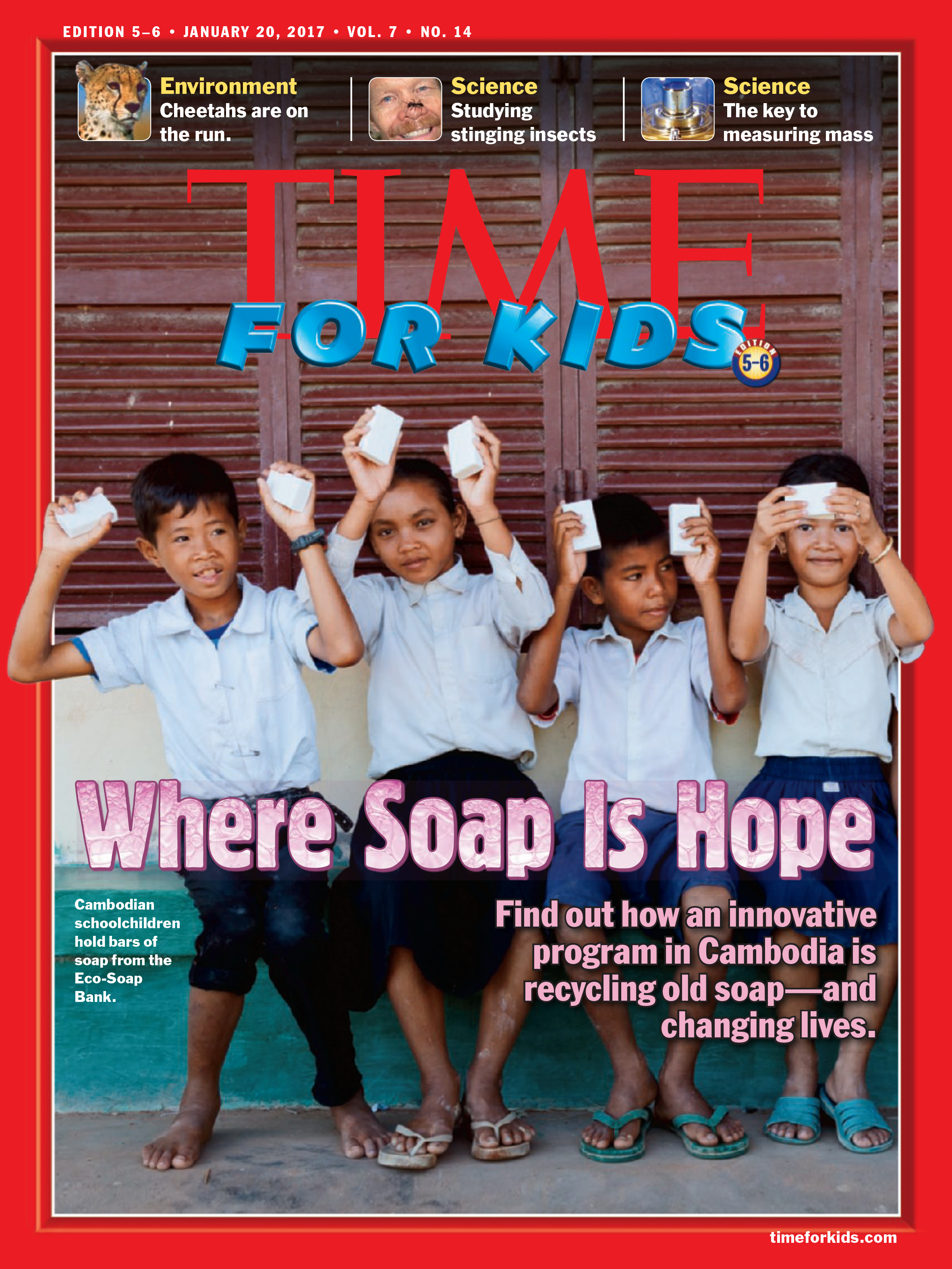 TIME for Kids, Cover Story, Jan 2017