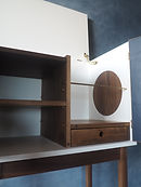 liquor Cabinet,walnut,