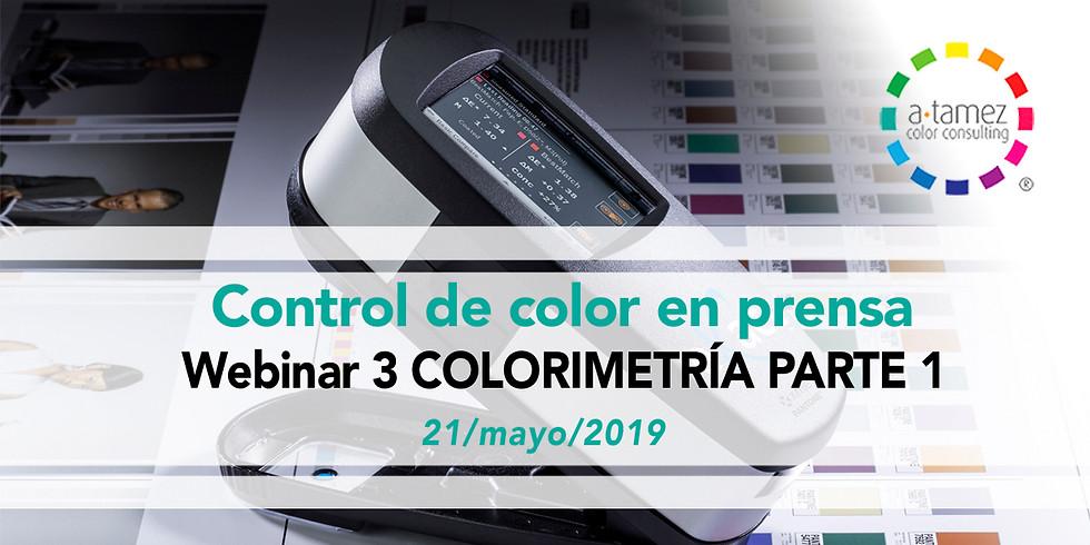 Webinar 3: Colorimetría 1