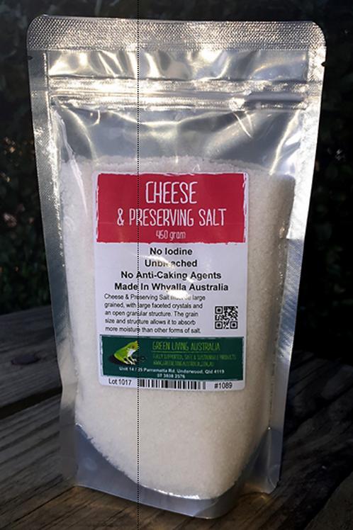 Cheese & Preserving Salt - 450 grams
