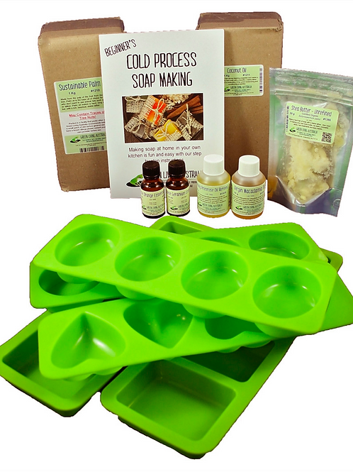Beginners Cold Process Deluxe Soap Making Kit