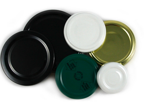 Mixed Twist Top Lids Pack (  10 x 63 mm)