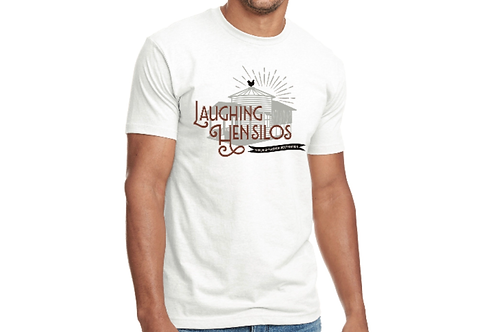 Laughing Hen Silo White T